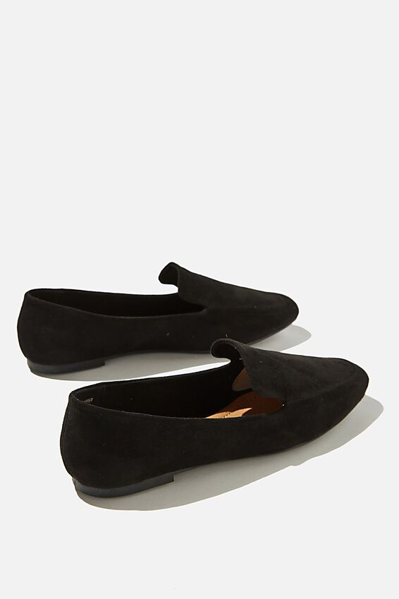 Essential Willow Soft Loafer, BLACK MICRO