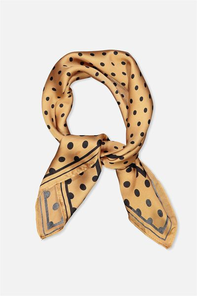 Rodeo Satin Scarf, MAPLE COIN SPOT