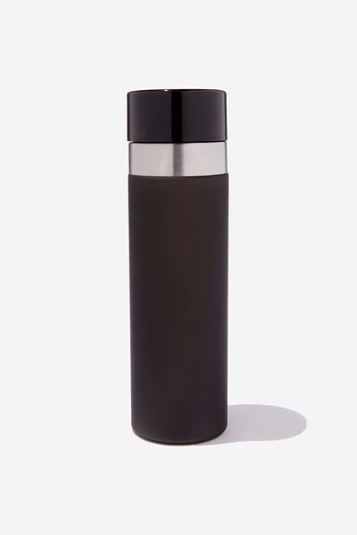 Water Bottle, BLACK