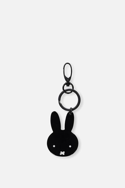 Miffy Bag Charms, BLACK