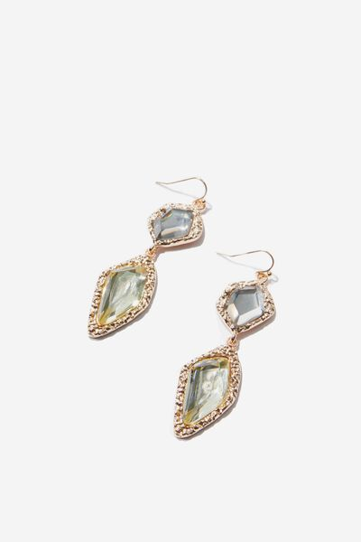 Lola Baroque Earring, GOLD