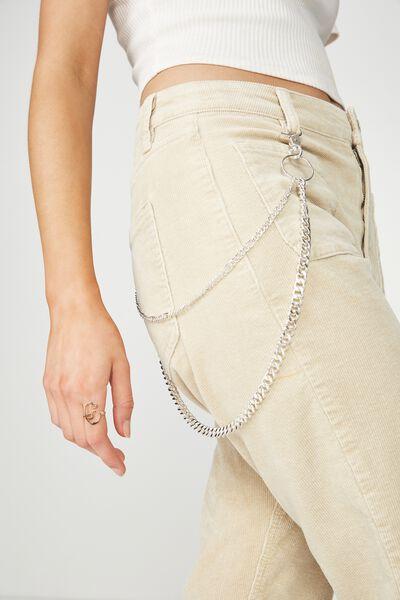 Wallet Chain Twin, SILVER