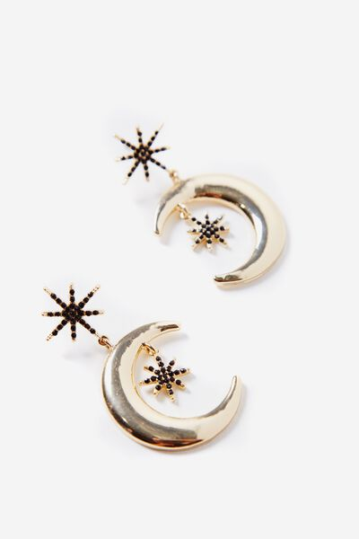 Star Light Earring, GOLD