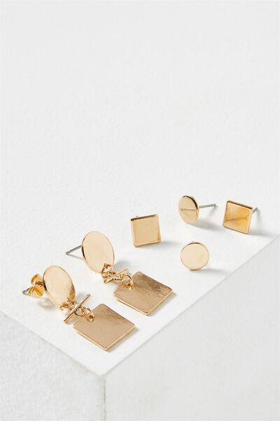 Alba Core Stud Pack, GOLD