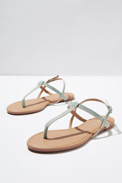 Everyday Toe Post Sandal, SAGE MICRO