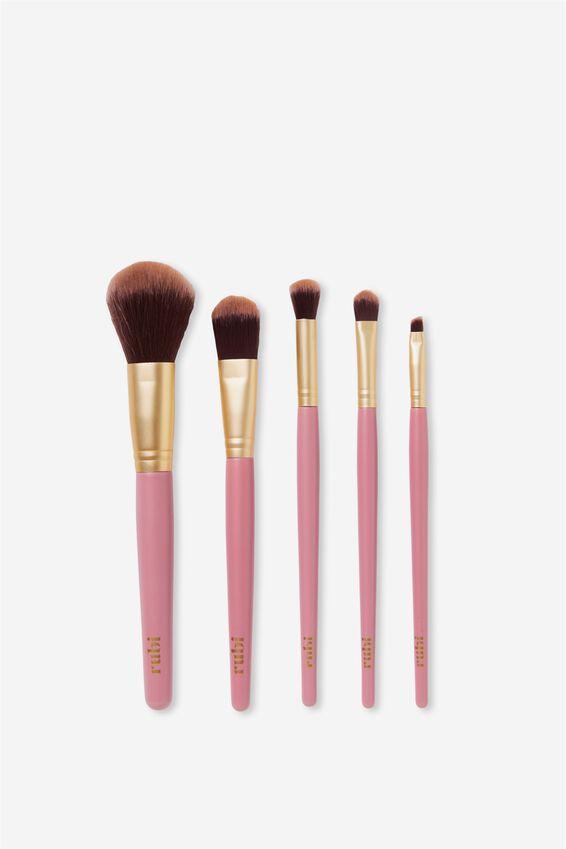 Large Brush Set, GOLD