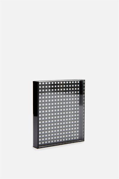 Gift Frame, BLACK PERSPEX