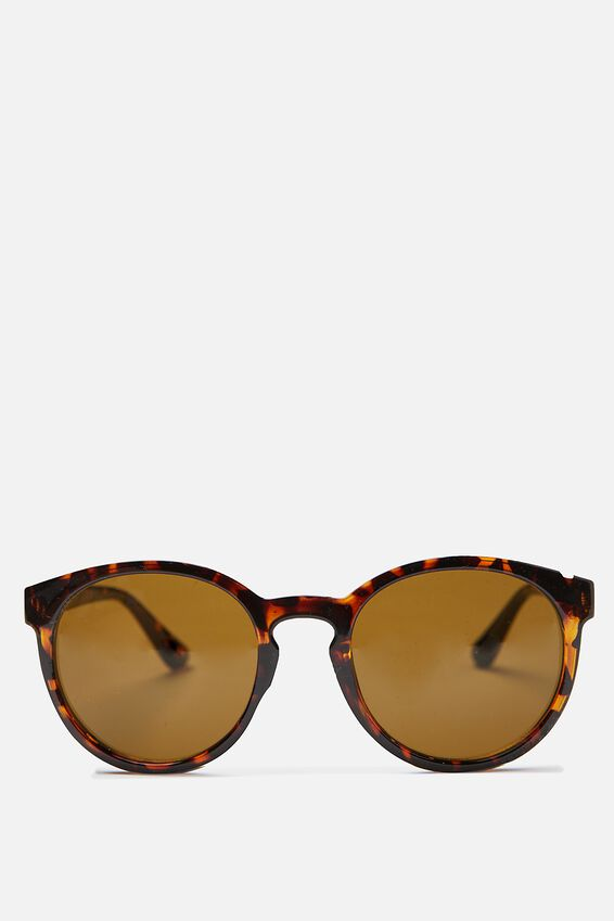 Rollin Round Sunglasses, TORT/BROWN SMOKE