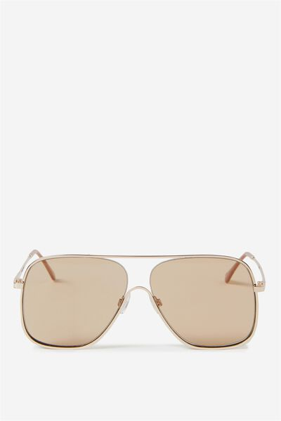 Ally Aviator, SOFT GOLD/BROWN