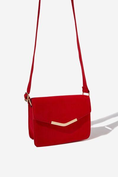 Sienna Handbag, SUNSET RED MICRO