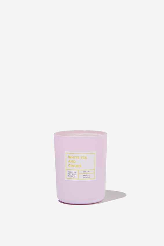 Modern Candle, WHITE TEA & GINGER/LILAC