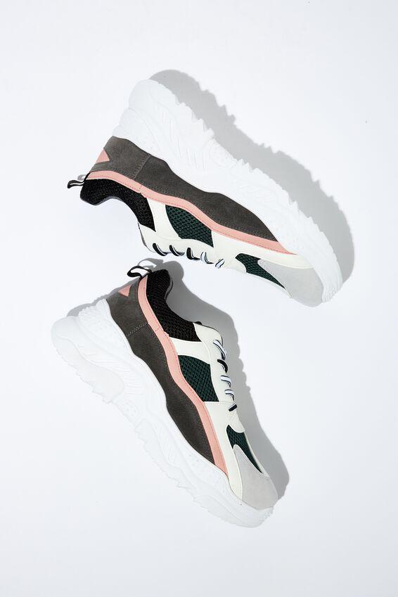 Blaze Chunky Sneaker, BLACK PINK MULTI