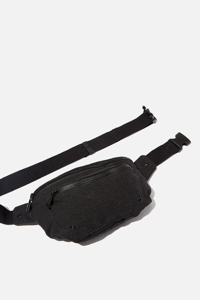 Brazen Belt Bag, BLACK WASH CANVAS