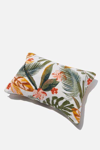 Bells Beach Pillow, NATURAL TROPICAL