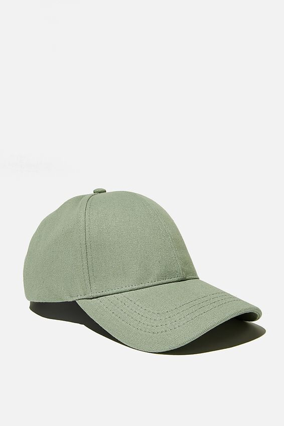 Hailey Structured Cap, LUSH GREEN