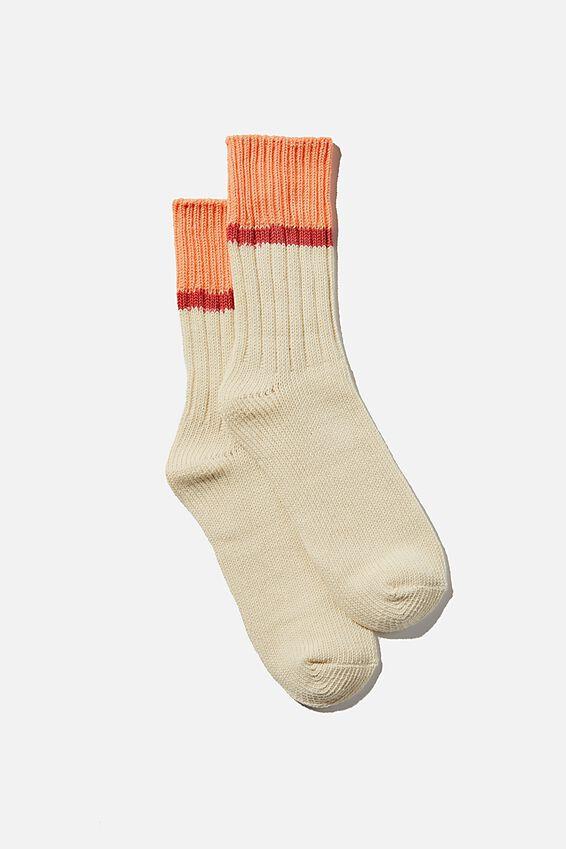 Weekend Sock, DUSK BLUSH