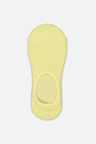 Invisible Mesh Sock, LEMONADE