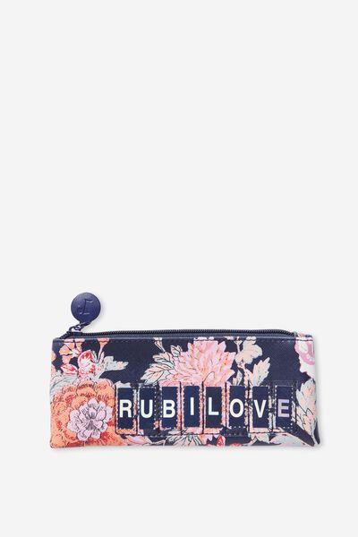 Personalised Mini Cosmetic Case, FLORAL