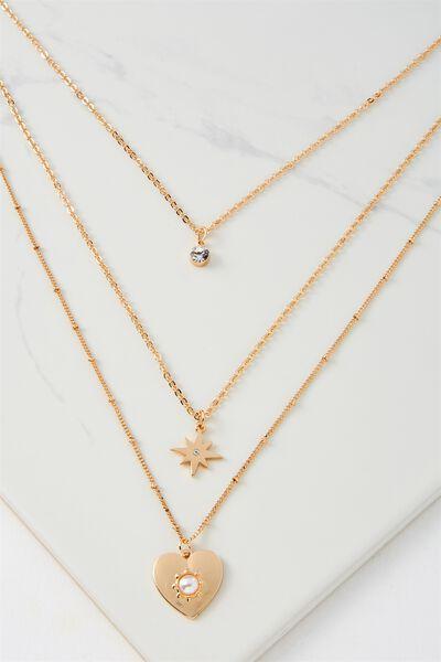 Amalfi Necklace, GOLD