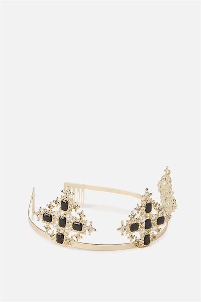 Monaco Crown, GOLD/BLACK
