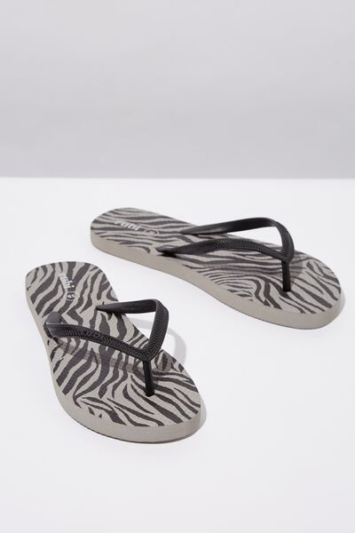 Rubi Thong, ZEBRA ANIMAL PRINT