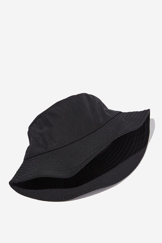 Bianca Bucket Hat, SPORTY BLACK