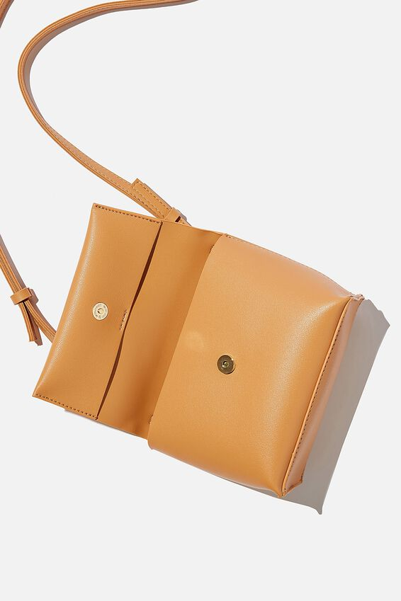 Whit Cross Body Bag, TAN