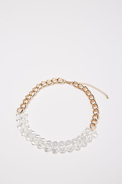Tanzania Necklace, GOLD