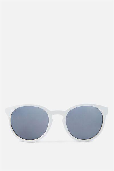 Rollin Round Sunglasses, SHINY WHITE