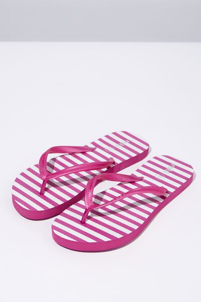 Rubi Thong, ROSE VIOLET STRIPE