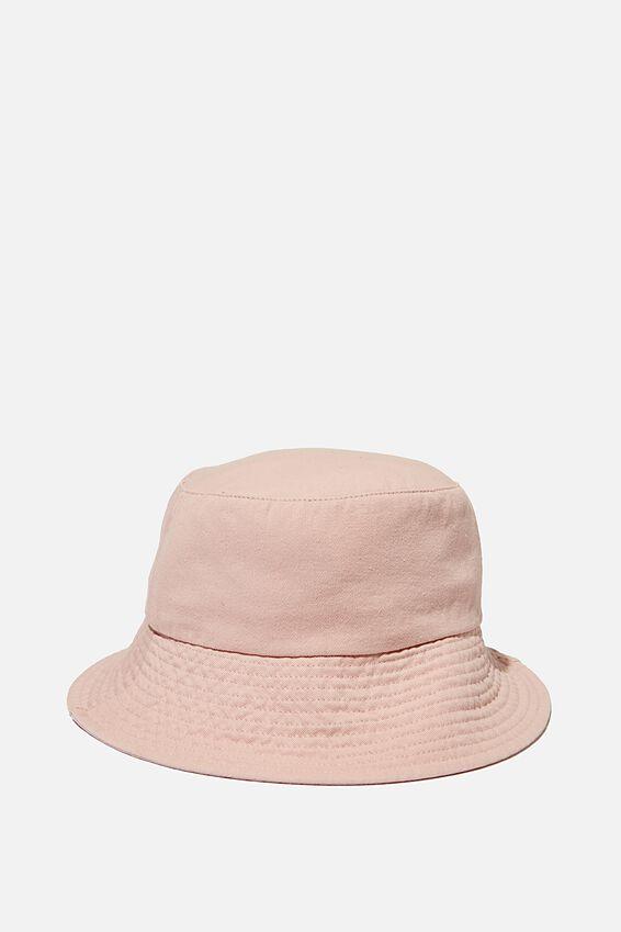 Bianca Bucket Hat, ROSE SMOKE