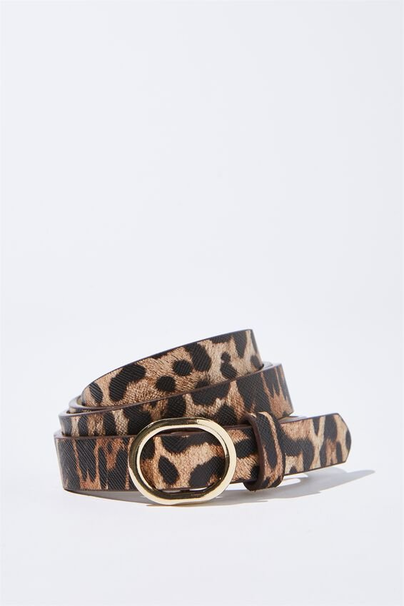 Mila Belt, NEW LEOPARD
