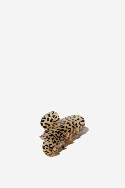 Large Hair Claw, LEOPARD