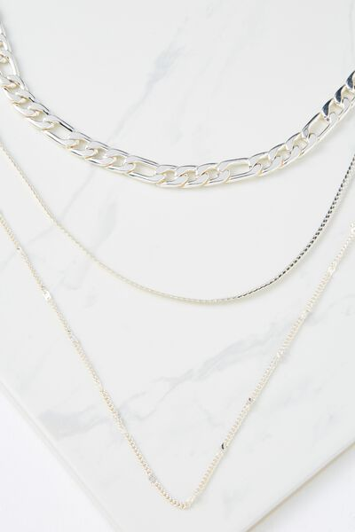 London Necklace, SILVER