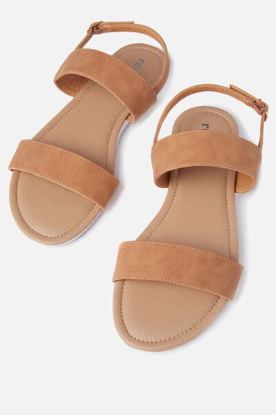 Everyday Marley Sandal, TAN NUBUCK
