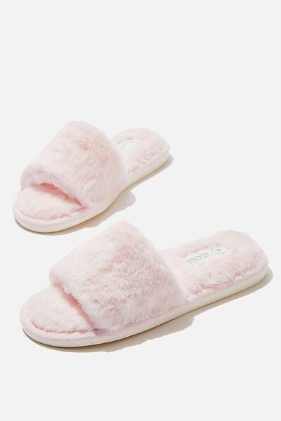 Emma Slide Slipper, CRYSTAL PINK