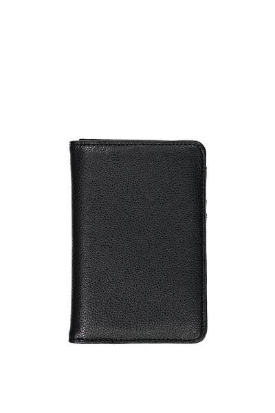 Metro Passport Wallet, BLACK/BLACK