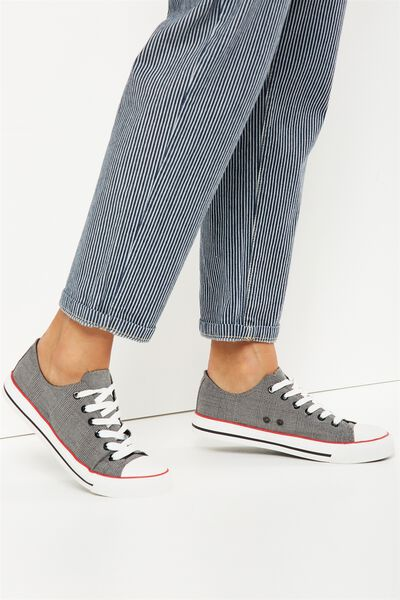 Jodi Low Rise Sneaker 1, PRINCE OF WALES CHECK