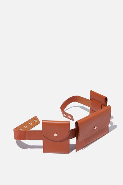Utility Belt Bag, TAN