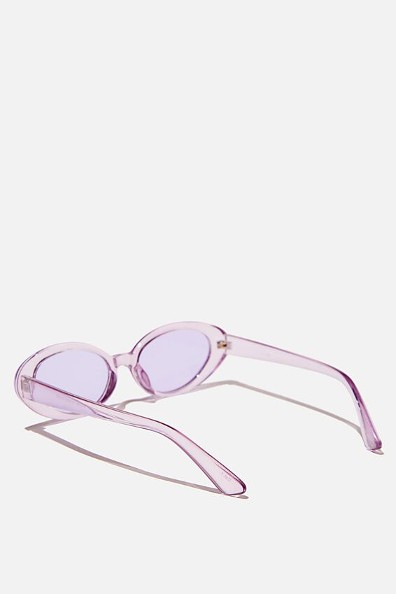Hazel Sunglasses, LILAC CRYSTAL