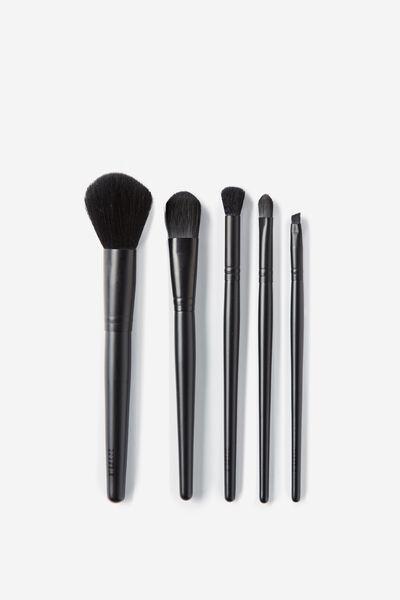 Large Brush Set, MATTE BLACK