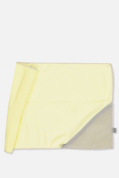 Active Zip Towel, LEMONADE