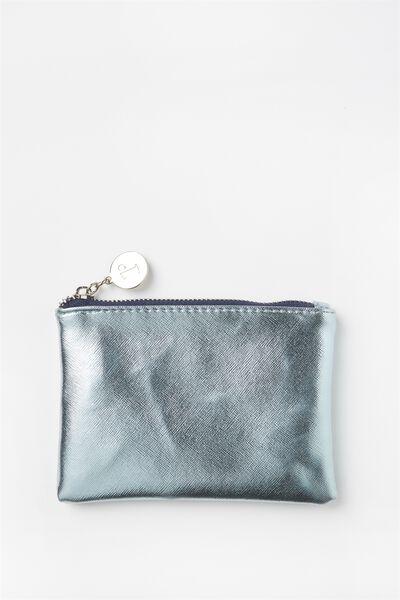 Meadow Coin Purse, MOONLIGHT METALLIC