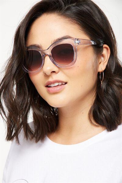 Celena D Frame Sunglasses, S.CRY BLUE
