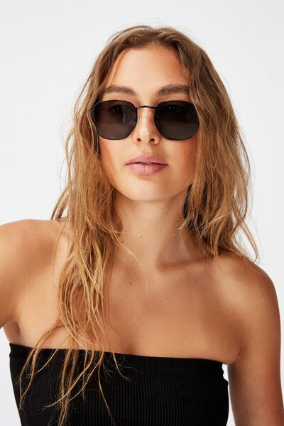 Erika Sunglass, BLACK