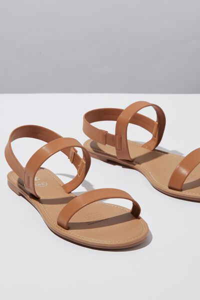 Everyday Cyrell Sandal, TAN PU