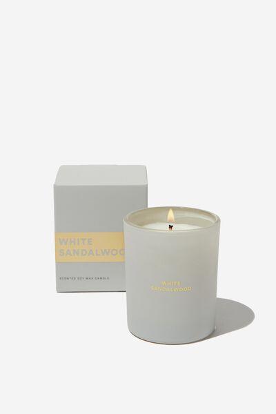 Body Candle, NUDE/WHITE SANDALWOOD