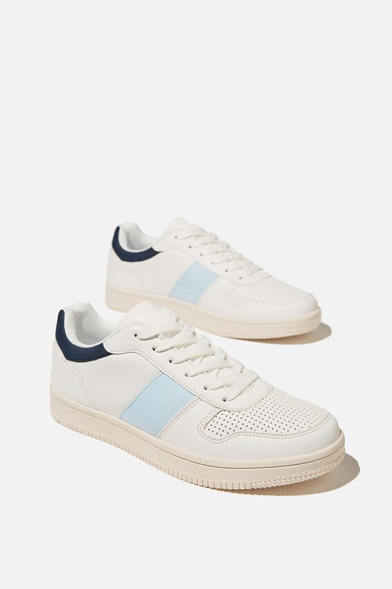 Alba Retro Low Rise, BLUE WHITE