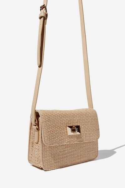 Summer Days Bag, NATURAL WOVEN