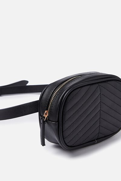 Brodie Belt Bag, BLACK